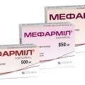 Мефармил - аналог Метформин
