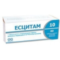 Эсцитам - аналог Адепресс