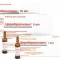 Церебролизин - аналог Ноофен