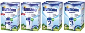 """Сухие смеси Humana со скидкой 20% в сети аптек """"КОСМО""""!"""