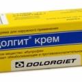 Долгит - аналог Диклофенак