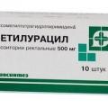 Метилурацил - аналог Мефенат