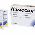 Нимесил - аналог Хондроксид
