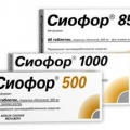 Сиофор - аналог Диаформин